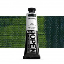 Golden : Open : Slow Drying Acrylic Paint : 59ml : Sap Green Hue IV
