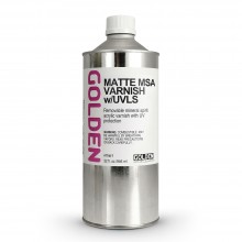 Golden : MSA (Mineral Spirit Acrylic) Varnish : Matte : 946ml