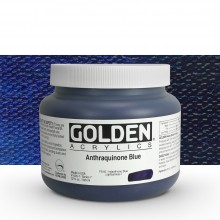 Golden : Heavy Body Acrylic Paint : 946ml : Anthraquinone Blue