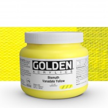 Golden : Heavy Body : Acrylic Paint : 946ml Bismuth Vanadate Yellow Ix : Please allow an extra week for delivery