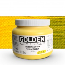 Golden : Heavy Body : Acrylic Paint : 946ml : Benzimidazolone Yellow Medium III : Please allow an extra week for delivery