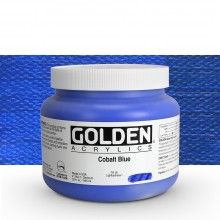 Golden : Heavy Body : Acrylic Paint : 946ml : Cobalt Blue : Please allow an extra week for delivery