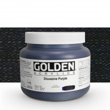 Golden : Heavy Body Acrylic Paint : 946ml : Dioxazine Purple