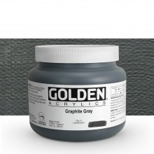 Golden : Heavy Body Acrylic Paint : 946ml : Graphite Grey