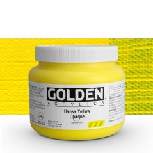 Golden : Heavy Body : Acrylic Paint : 946ml : Hansa Yellow Opaque : Please allow an extra week for delivery