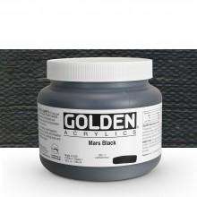 Golden : Heavy Body Acrylic Paint : 946ml : Mars Black
