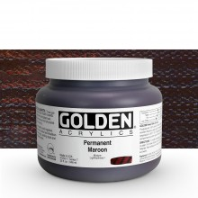 Golden : Heavy Body Acrylic Paint : 946ml Permanent Maroon Vii