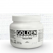 Golden : Heavy Body Acrylic Paint : 946ml : Titanium White