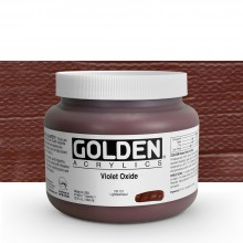 Golden : Heavy Body Acrylic Paint : 946ml : Violet Oxide