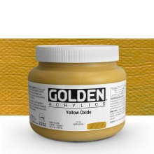 Golden : Heavy Body Acrylic Paint : 946ml : Yellow Oxide