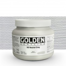 Golden : Heavy Body Acrylic Paint : 946ml : Neutral Grey No.8