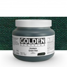 Golden : Heavy Body : Acrylic Paint : 946ml : Hookers Green Hue : Please allow an extra week for delivery