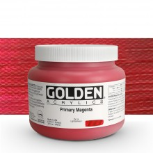 Golden : Heavy Body Acrylic Paint : 946ml : Primary Magenta : Please allow an extra week for delivery