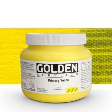 Golden : Heavy Body Acrylic Paint : 946ml : Primary Yellow