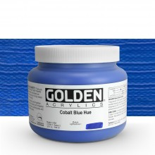 Golden : Heavy Body : Acrylic Paint : 946ml : Cobalt Blue Hue : Please allow an extra week for delivery