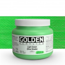 Golden : Heavy Body Acrylic Paint : 946ml : Light Green Blue Shade