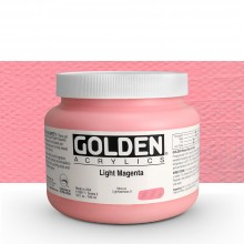 Golden : Heavy Body : Acrylic Paint : 946ml : Light Magenta : Please allow an extra week for delivery