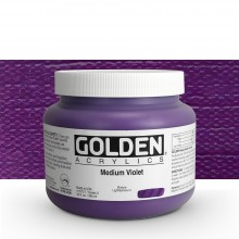 Golden : Heavy Body Acrylic Paint : 946ml : Medium Violet : Please allow an extra week for delivery
