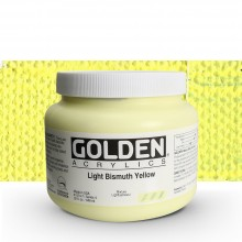 Golden : Heavy Body Acrylic Paint : 946ml : Light Bismuth Yellow IV : Please allow an extra week for delivery