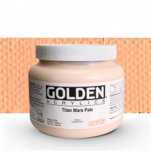 Golden : Heavy Body : Acrylic Paint : 946ml : Titan Mars Pale I : Please allow an extra week for delivery