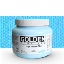 Golden : Heavy Body Acrylic Paint : 946ml : Light Phthalo Blue I : Please allow an extra week for delivery