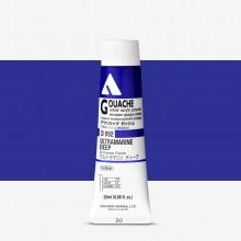 Holbein : Acryla Gouache : 20ml : Ultramarine Blue Deep