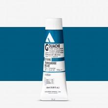 Holbein : Acryla Gouache : 20ml : Turquoise Blue