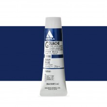 Holbein : Acryla Gouache : 20ml : Navy Blue