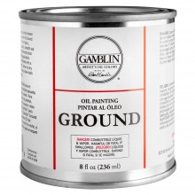 Gamblin : Oil Painting Ground : 236ml : Ship By Road Only