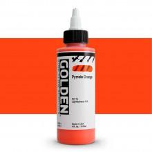 Golden : High Flow : Acrylic Paint : 119ml : Pyrrole Orange : S8