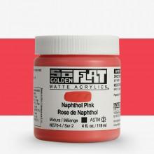 Golden : SoFlat : Matte Acrylic Paint : 118ml : Naphthol Pink