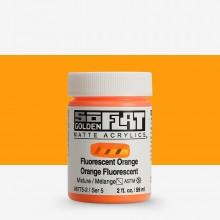 Golden : SoFlat : Matte Acrylic Paint : 59ml : Fluorescent Orange