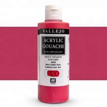 Vallejo : Acrylic Gouache : 200ml : Cadmium Red Hue