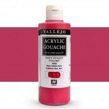 Vallejo : Acrylic Gouache : 200ml : Cadmium Red Hue