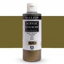 Vallejo : Acrylic Gouache : 200ml : Bronze