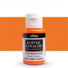 Vallejo : Acrylic Gouache : 35ml : Orange