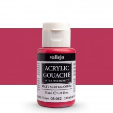 Vallejo : Acrylic Gouache : 35ml : Cadmium Red Hue