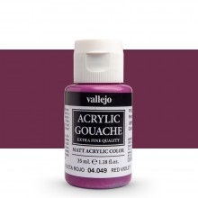 Vallejo : Acrylic Gouache : 35ml : Red Violet