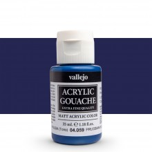 Vallejo : Acrylic Gouache : 35ml : Prussian Blue (Hue)