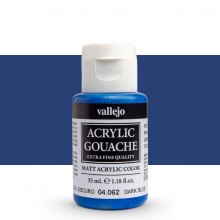 Vallejo : Acrylic Gouache : 35ml : Dark Blue
