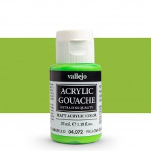 Vallejo : Acrylic Gouache : 35ml : Yellow Green