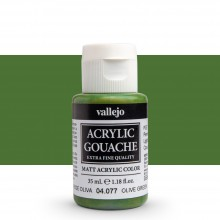 Vallejo : Acrylic Gouache : 35ml : Olive Green