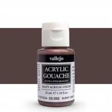 Vallejo : Acrylic Gouache : 35ml : Burnt Umber