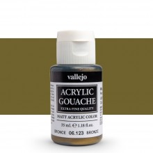 Vallejo : Acrylic Gouache : 35ml : Bronze