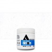 Holbein : White Acrylic Gesso : 330ml :(L) Coarse Texture