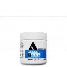 Holbein : White Acrylic Gesso : 330ml : (S) Smooth Texture