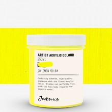Jackson's : Artist Acrylic Paint : 250ml : Lemon Yellow