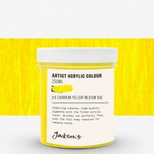 Jackson's : Artist Acrylic Paint : 250ml : Cadmium Yellow Hue