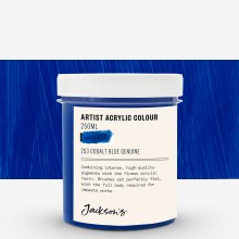 Jackson's : Artist Acrylic Paint : 250ml : Cobalt Blue Genuine
