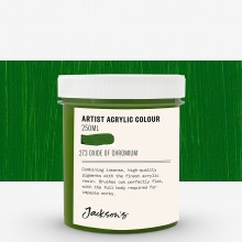 Jackson's : Artist Acrylic Paint : 250ml : Opaque Oxide of Chromium
